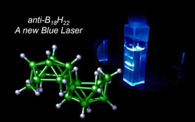 First Borane Laser